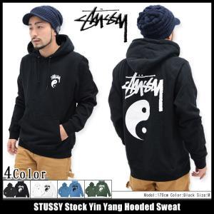 ステューシー STUSSY プルオーバー パーカー メンズ Stock Yin Yang(stussy hooded sweat トップス 男性用 1923975)|icefield