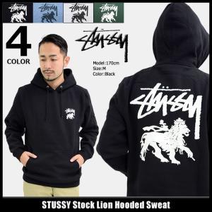 ステューシー STUSSY プルオーバー パーカー メンズ Stock Lion(stussy hooded sweat トップス 男性用 1924120)|icefield