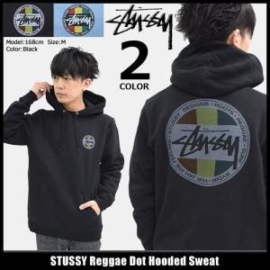 ステューシー STUSSY プルオーバー パーカー メンズ Reggae Dot(stussy hooded sweat トップス 男性用 1924179)|icefield