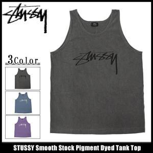 ステューシー STUSSY タンクトップ メンズ Smooth Stock Pigment Dyed(stussy tank top トップス メンズ・男性用 1933878)|icefield