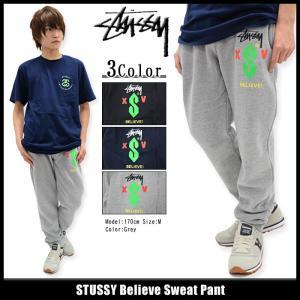 ステューシー STUSSY パンツ メンズ Believe Sweat(stussy pant スウェットパンツ ボトムス メンズ・男性用 195019)|icefield