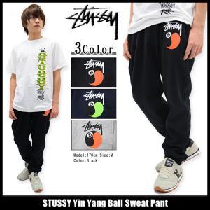 ステューシー STUSSY パンツ メンズ Yin Yang Ball Sweat(stussy pant スウェットパンツ ボトムス メンズ・男性用 195022)|icefield