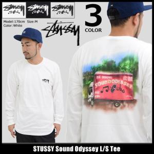 ステューシー STUSSY Tシャツ 長袖 メンズ Sound Odyssey(stussy tee カットソー トップス ロンt 男性用 1994136) icefield