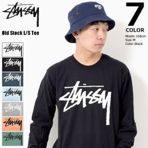 ステューシー STUSSY ロンt Tシャツ 長袖 メンズ Old Stock(stussy tee カットソー トップス 男性用 1994213 USAモデル 正規)