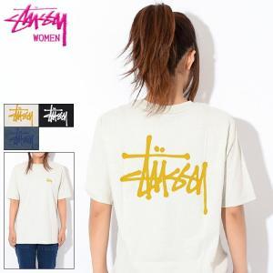 ステューシー Tシャツ 半袖 STUSSY レディース WOMEN Basic Stussy(stussy tee トップス 女性用 ベーシック 2902959 USAモデル 正規)
