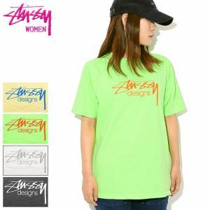 ステューシー Tシャツ 半袖 STUSSY レディース WOMEN Stussy Designs P...