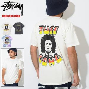 ステューシー Tシャツ 半袖 STUSSY メンズ Bob Marley Island コラボ(stussy×Bob Marley tee Tie Dye Pigment 3903305 USAモデル 正規)