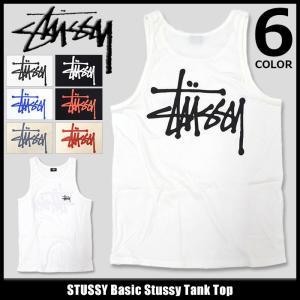 ステューシー STUSSY タンクトップ メンズ Basic Stussy(stussy tank top トップス 男性用 ベーシック 1934061 1934003)|icefield