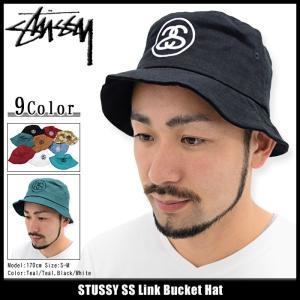 ステューシー STUSSY バケット ハット SS Link Bucket Hat 帽子(stussyhat メンズ・男性用 132754 132726 132719)|icefield