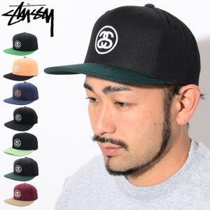 ステューシー STUSSY キャップ 帽子 SS Link HO17 Snapback Cap(スナップバック メンズ・男性用 131760 131704)|icefield