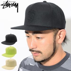 ステューシー STUSSY キャップ 帽子 Stock Lock SU18 Snapback Cap(スナップバック メンズ・男性用 131805 131779 USAモデル 正規)