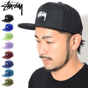 ステューシー STUSSY キャップ 帽子 Stock HO17 Snapback Cap(スナップバック メンズ・男性用 131761 131745)|icefield