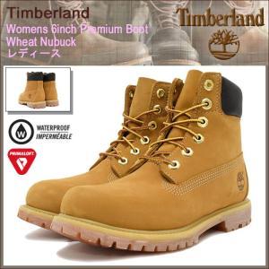 ティンバーランド Timberland ブーツ ウィメンズ 6インチ プレミアム ウィート ヌバック(10361 Womens 6inch Premium Boot Wheat 防水)|icefield