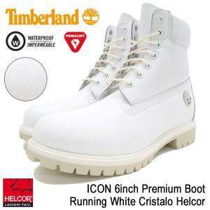 ティンバーランド Timberland ブーツ メンズ 男性用 アイコン 6インチ プレミアム Running White Cristalo Helcor(A1JSB ICON 6inch Boot)|icefield
