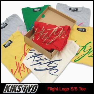 キックス ティー・ワイ・オー KIKS TYO フライト ロゴ Tシャツ 半袖(Kiks Tyo Flight Logo S/S Tee KIKSTYO kiks・tyo KT1309T-02)|icefield