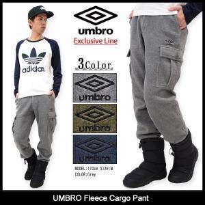 アンブロ UMBRO パンツ メンズ フリース カーゴ(umbro UCA3691AYP Fleece Cargo Pant Exclusive Line ボトムス 男性用)|icefield