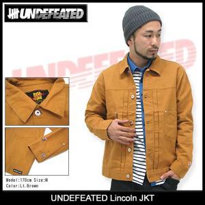 アンディフィーテッド UNDEFEATED リンカーン ジャケット(Lincoln JKT アウター トップス ジャンパー・ブルゾン メンズ 男性用 515084)|icefield