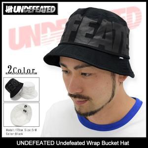 アンディフィーテッド UNDEFEATED ハット メンズ アンディフィーテッド ラップ バケットハット(Undefeated Wrap Bucket Hat 帽子 532333) icefield