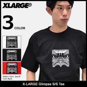 エクストララージ X-LARGE Tシャツ 半袖 メンズ グリンプス(x-large Glimpse S/S Tee カットソー トップス M17A1108) icefield