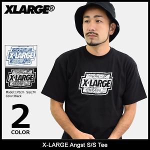 エクストララージ X-LARGE Tシャツ 半袖 メンズ アングスト(x-large Angst S/S Tee カットソー トップス M17C1132) icefield