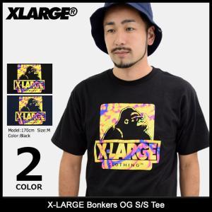 エクストララージ X-LARGE Tシャツ 半袖 メンズ ボンカーズ OG(x-large Bonkers OG S/S Tee カットソー トップス M17C1137)|icefield