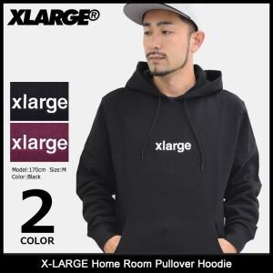 エクストララージ X-LARGE プルオーバー パーカー メンズ ホーム ルーム(x-large Home Room Pullover Hoodie トップス M17C2106) icefield