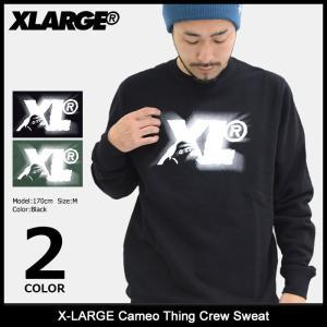 エクストララージ X-LARGE トレーナー メンズ カメオ シング クルー スウェット(x-large Cameo Thing Crew Sweat トップス M17C2205) icefield