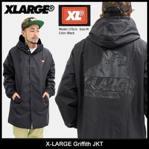 エクストララージ X-LARGE ジャケット メンズ グリフィス(x-large Griffith JKT ナイロンジャケット アウター 男性用 M17C5105) icefield