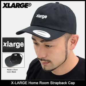 エクストララージ X-LARGE キャップ メンズ ホーム ルーム ストラップバックキャップ(Home Room Strapback Cap 帽子 M17C9107) icefield
