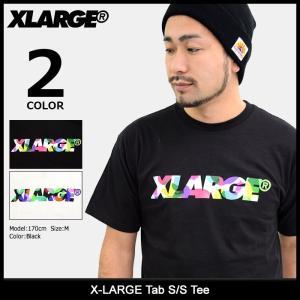 エクストララージ X-LARGE Tシャツ 半袖 メンズ タブ(x-large Tab S/S Tee カットソー トップス M17D1106) icefield