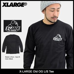 エクストララージ X-LARGE Tシャツ 長袖 メンズ オールド OG(x-large Old OG L/S Tee トップス ロンt M17D1402) icefield