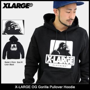 エクストララージ X-LARGE プルオーバー パーカー メンズ OG ゴリラ(x-large OG Gorilla Pullover Hoodie トップス M17D2104)|icefield