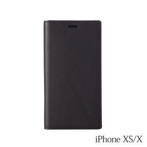 iPhoneXS/X ケース Bellezza Calma (ベレッツァカルマ)Leather CASE  レザーケース Black(ブラック)|iceselection