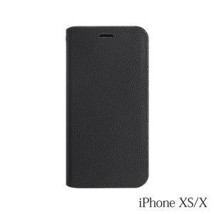 iPhoneXS/X ケース Bellezza Calma (ベレッツァカルマ)手帳型ケース Black(ブラック)|iceselection