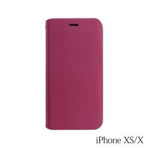 iPhoneXS/X ケース Bellezza Calma (ベレッツァカルマ)手帳型ケース Red(レッド)|iceselection