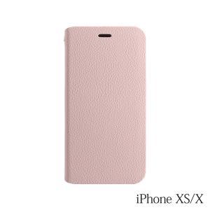 iPhoneXS/X  ケース Bellezza Calma (ベレッツァカルマ)手帳型ケース Pink(ピンク)|iceselection