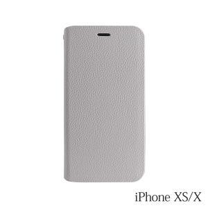 iPhoneXS/X ケース Bellezza Calma (ベレッツァカルマ)手帳型ケース Gray(グレー)|iceselection