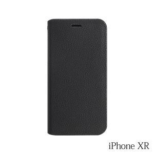 iPhoneXR ケース Bellezza Calma (ベレッツァカルマ)手帳型ケース Black(ブラック)|iceselection