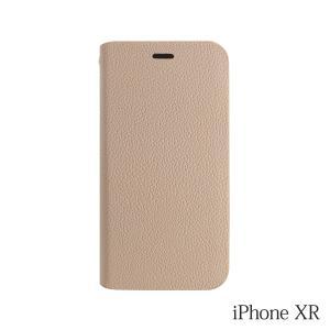 iPhoneXR ケース Bellezza Calma (ベレッツァカルマ)手帳型ケース Beige(ベージュ)|iceselection