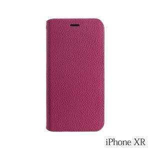 iPhoneXR ケース Bellezza Calma (ベレッツァカルマ)手帳型ケース Red(レッド)|iceselection