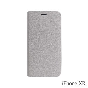 iPhoneXR ケース Bellezza Calma (ベレッツァカルマ)手帳型ケース Gray(グレー)|iceselection
