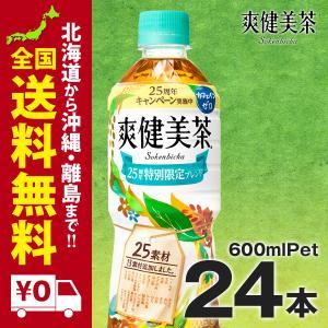 爽健美茶 PET 600ml 24本セット|iceselection