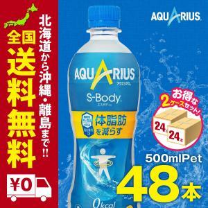 アクエリアス エスボディ PET 500ml 48本セットまとめ買いでさらにお得セット|iceselection