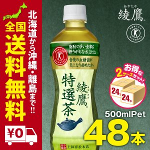 綾鷹 特選茶 PET 500ml 48本 まとめ買いでさらにお得セット|iceselection