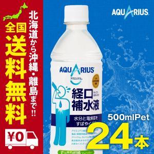 アクエリアス経口補水液 500mlPET 24本セット|iceselection