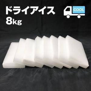 ドライアイス 8キロ DI-8 夏の自由研究・化学の実験・冷凍庫の故障時・ペットのご遺体保存・イベントの白煙|iceselection