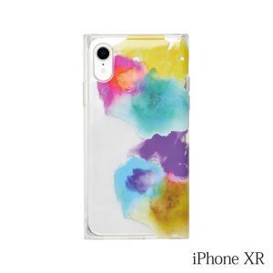 iPhoneXR ケース MAELYS LOUNA(マエリスルーナ)Louna Collections watercolor for iPhoneXR (vivid) LCw-03102-vi|iceselection