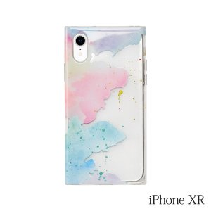 iPhoneXR ケース MAELYS LOUNA(マエリスルーナ)Louna Collections watercolor for iPhoneXR (pale)|iceselection