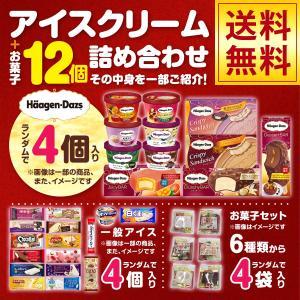ハーゲンダッツアイス4個 その他アイスクリーム4個 お菓子4パック アイスとお菓子の詰め合わせ ハロウィン福袋セット SE-8|iceselection