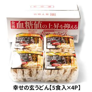 機能性表示食品】 幸せの玄うどん (5食入×4袋) UG-4|iceselection
